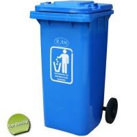 κάδος σκουπιδιών 100lt με ή χωρίς πεντάλ